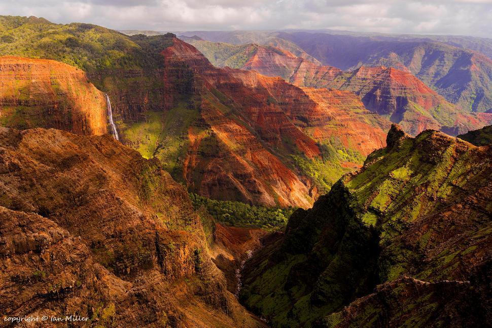 شکوه کانیون در هاوایی