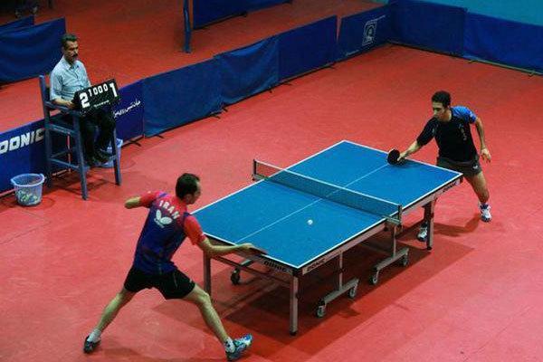 مسابقات تنیس روی میز جوانان استان مرکزی در خمین برگزار گردید