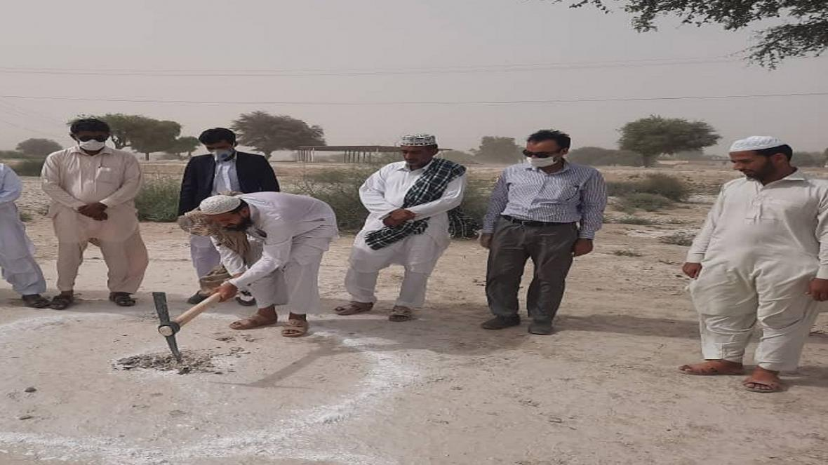 عملیات ساخت 20 طرح بهداشتی در جنوب سیستان و بلوچستان شروع شد